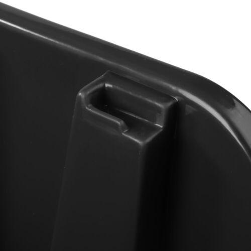 50x Sichtlagerbox Sortierbox Lagerbox Stapelbox schwarz NP10 Lagersystem