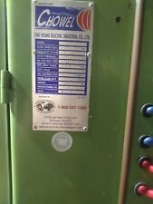 Great Condition Chowell 75 Kva Spot Welder Was A Back Up For A Line