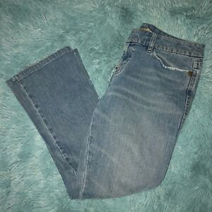 9cf7b5bc Sergio Valente Womens Jeans Size 10 Straight Leg Mid Rise Stretch ...
