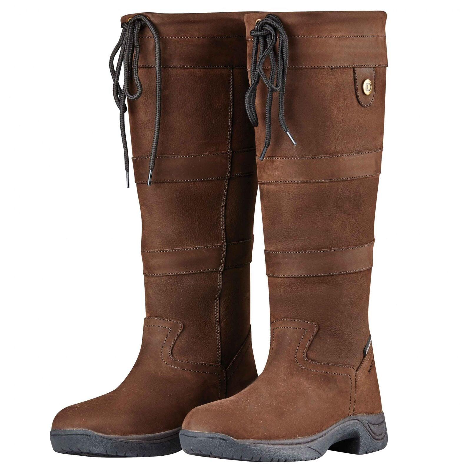 Dublin River Boots III Chocolate (Regular Fit) Country Boots UK SHOE SIZES