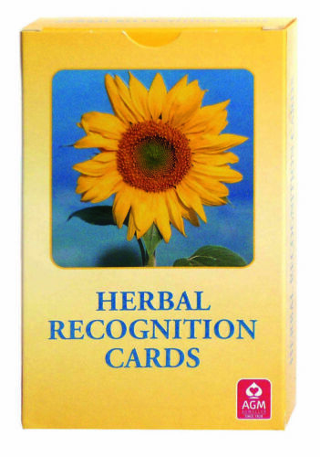 HERBAL RECOGNITION LAMINATED DECK KARTEN ESOTERIC FORTUNE TELLING AGM