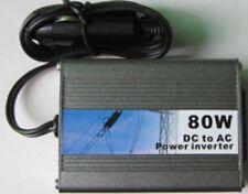 SPECIAL CAMPING CAR CARAVANE CAMPING CONVERTISSEUR 12V=>220V 80W! SUPER COMPACT