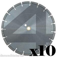 10 14 Diamond Saw Blades 4 Concrete Brick Block Stone Slate Rock Masonry