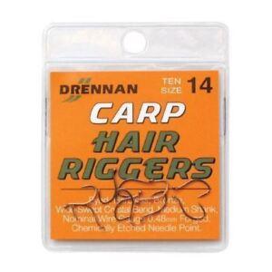 Drennan Silverfish Hair Riggers Coarse Hooks All Sizes Coarse Fishing