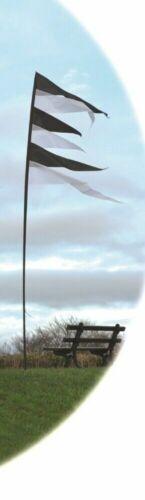 Spirit of Air Festival Pendant Banner Flag Kit Stake and Pole 3.75m Caravan Camp