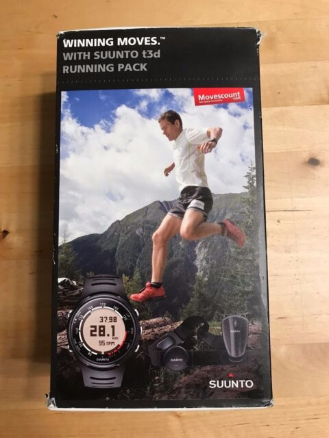 NEW Suunto t3d Running Pack Sport Watch SS015851000 - For Runners