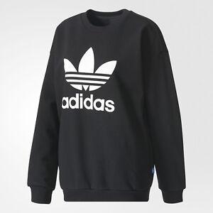 Adidas Encolure shirt Ronde Trefoil Sweat xH4Tvqx