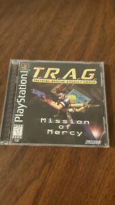 Lot of 5 Playstation 1 Games - All CiB - TESTED - TRAG, Resident Evil, Biohazard