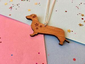 Collar-de-perro-salchicha-Salchicha-perro-collar-perro-collar-perro-Salchicha-Colgante