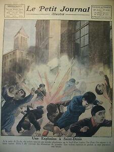SAINT-DENIS-EXPLOSION-LE-HAVRE-CARAVELLE-CHRISTOPHE-COLOMB-LE-PETIT-JOURNAL-1921