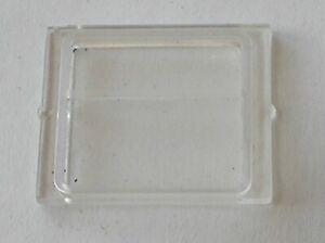 Vitre-Fenetre-Train-LEGO-Clear-Glass-1x4x3-Ref-4034-Set-7720-7725-7735-7745-4558