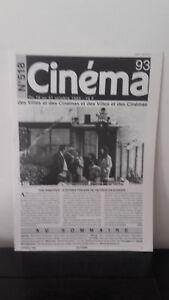 Cinema - N°518 - 16 Au 31 Ottobre 1993 - I Snapper: Stephen Frears
