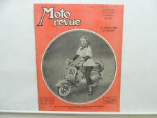 July 1951 Moto Revue Magazine Le Grand Prix De France Vespa 150 BSA Puch L8921