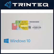 Microsoft Windows 10 Home COA License Sticker 32Bit/64Bit New Multi-Language