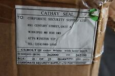 Cathy Cargo Security Bolt Seal Freight Container Lock Card Of 10 Locks