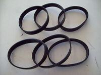 6 Edenpure Bio Speedclean Vacuum Cleaner Replacement Belts, Made In America Usa