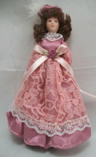 "Victorian Mother Woman G7653-1//12 scale bendable miniature Porcelain 6/"" Doll"