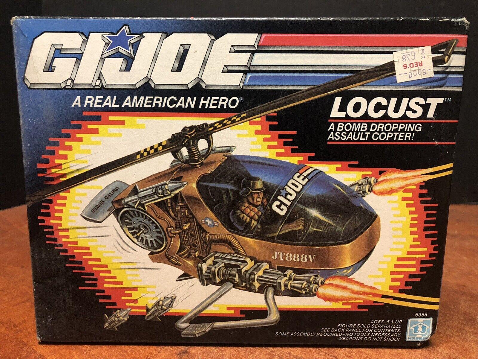 Gi Joe 1989 langosta Copter Caja Sellada que 0482