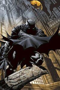 BATMAN-STALKING-24x36-COMIC-ART-POSTER-DC-NEW-ROLLED