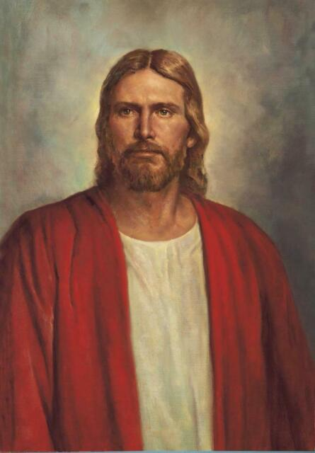 BEAUTIFUL JESUS CHRIST PORTRAIT POSTER PICTURE PHOTO PRINT mormon christian 3861