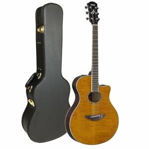 yamaha apx600fm acoustic electric guitar with free case 889025120500 ebay. Black Bedroom Furniture Sets. Home Design Ideas