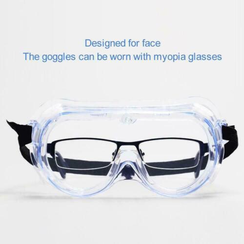 Anti-brouillard clair de sécurité Lab Lunettes de travail Protection Seal Eye Respirant Lunettes Kj