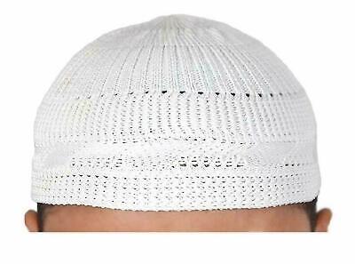 Muslim Namaz Cap Knitted Cotton Topi For Prayer Hat Islamic Kufi Namz Cap