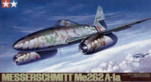 ME 262 Fighter Version - 1 48 Aircraft Model Kit - Tamiya 61087