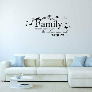 Mobile Quotes Diy Wall Stickers Decals Murals Home Room Decoration