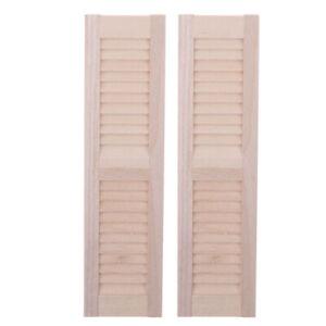 2pcs-1-12-Miniature-Dollhouse-Wooden-Shutters-DIY-Window-Furniture-Accessory-al