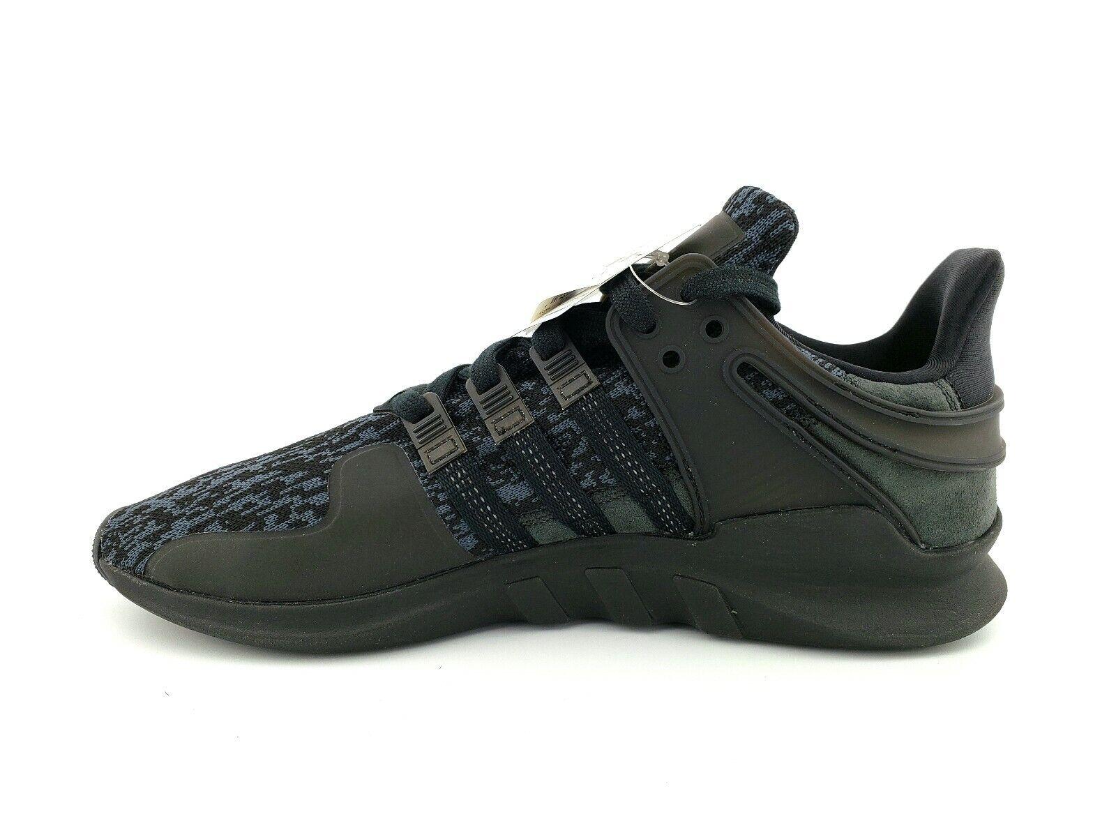 New Men's Adidas Originals EQT Support ADV BY9589 Black-Sub Green Size 10