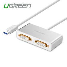 Ugreen USB 3.0 to HDMI VGA Dual-DVI Video Graphics Card Multi-Display Adapter