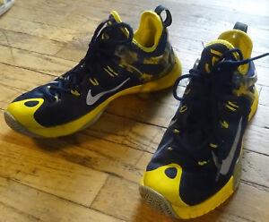 Nike Zoom HyperRev 2015 Paul George Sz 8 Blue Yellow Pacers