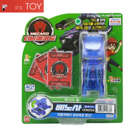 Turning Mecard VENOSA Blue ver Transformer Transforming Robot Car Toy Sonokong