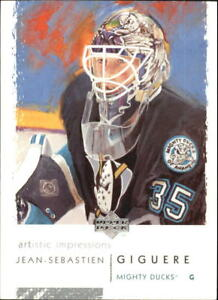 2002-03-UD-Artistic-Impressions-Hockey-Cards-Pick-From-List