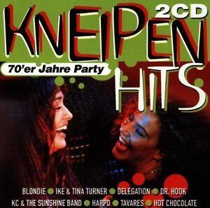 Kneipen-Hits-70-039-er-Jahre-Party-Delegation-KC-amp-The-Sunshine-Band-Blon-2-CD