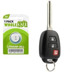 Replacement For 2014 2015 Toyota Rav 4 Rav4 Car Key Fob Remote