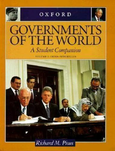 Pious, Richard M. : Governments of the World: A Student Comp