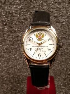 Russian Mechanical Watch Record President Vladimir Putin White 2 Ebay