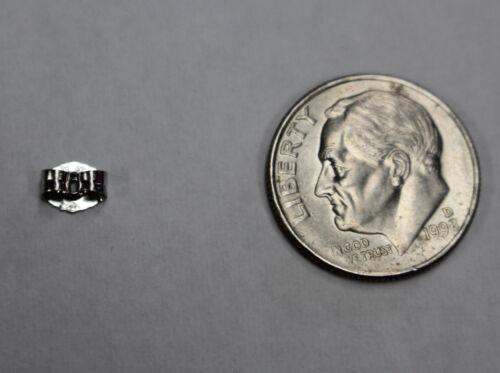 Platine 950 poids léger 5 mm ou poids moyen 5.5 mm Boucle d/'oreille dos hypoallergénique