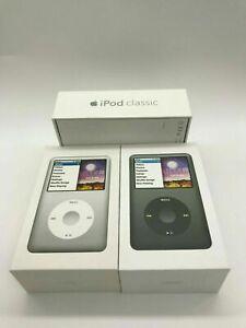 New Apple iPod Classic 7th Gen 160GB 120GB MP4 Player Black/Silver Latest Model