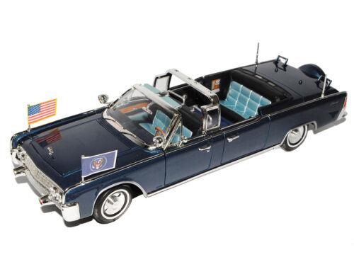 Lincoln X-100 Kennedy Car Cabrio Blau President Biest Stretch Limousine Signatur