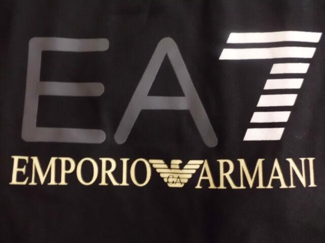 88e3c73e761da T-shirt Ea7 Emporio Armani Noir manches longues pour Homme M   eBay