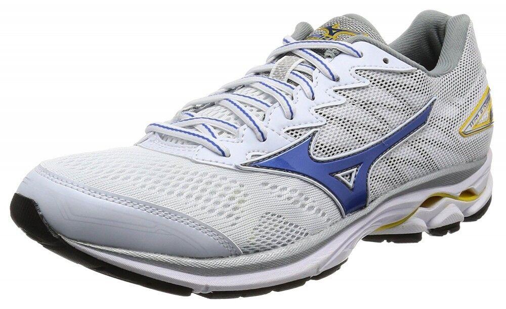 MIZUNO Running shoes WAVE RIDER 20 J1GC1703 White X bluee X yellow