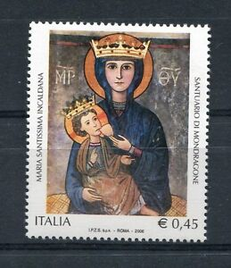 Italia-2006-Basilica-di-Maria-Santissima-Incaldana-di-Mondragone-MNH