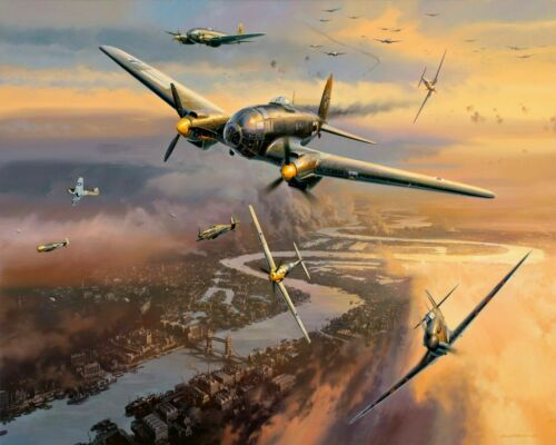 World War 2 Aircrafts Battle Of London Painting Paint By Numbers Kit DIY