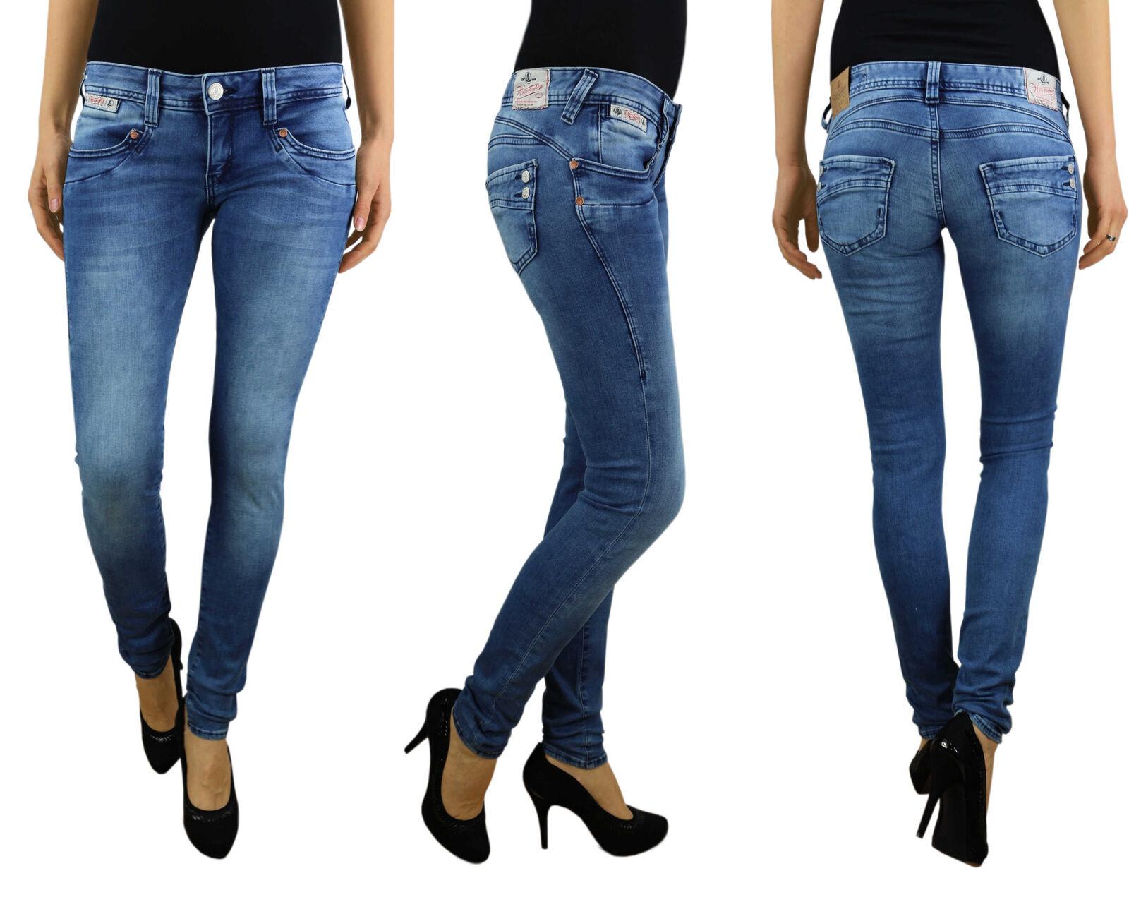 HERRLICHER Damen Jeans PIPER SLIM 5650 D9668 724 pearl river Denim Powerstretch