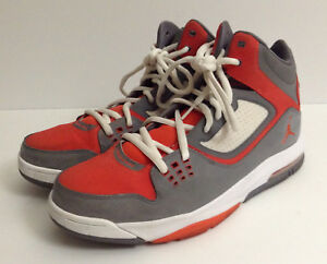 77bb279ac05 Jordan Flight 23 RST - Men's Cool Grey Team Orange White, US Size ...