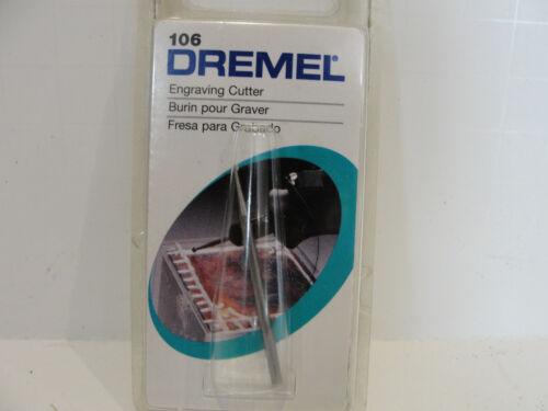 1//8-Inch Shank Dremel 106 Engraving Cutter