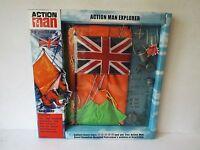 Vintage Action Man 40th Explorer Base Camp Set Boxed (am192)